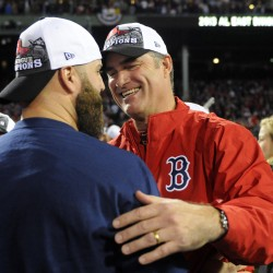 Red Sox receive 2013 World Series rings, but Brewers spoil home opener