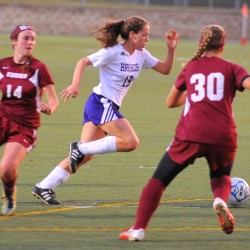 Freshman striker Shanos' hat trick leads Waterville past Hampden