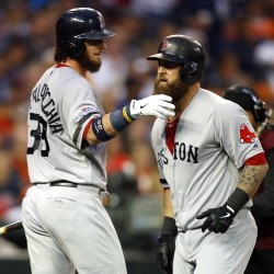Red Sox hold off Tigers, move within one win of World Series