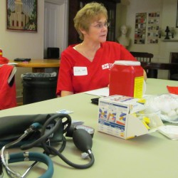 Maine State Nurses Association holds free health screenings