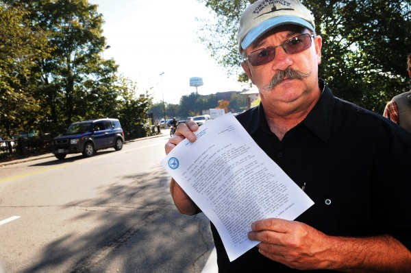 John Joyal talks about the furlough letter he received Tuesday morning at the Portsmouth Naval Shipyard and says, &quotShame on Congress for not doing their jobs.&quot