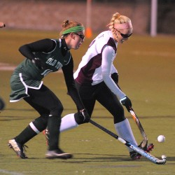 Top-ranked Nokomis field hockey team tips upset-minded Camden Hills in second overtime