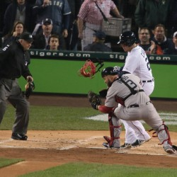 Red Sox beat Tigers in rain-shortened game