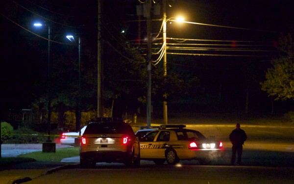 A Maine State Police trooper shot and killed a man, believed to be in his thirties, who reportedly stabbed his girlfriend to death Wednesday night in an Old Town apartment along Main Street.