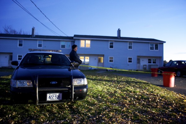 Police responded to the scene of a shooting at 54 Bald Mountain Drive Wednesday at 4:42 p.m. in Bangor. The Bangor Fire Department transported one victim to a local emergency room and their condition is unknown.