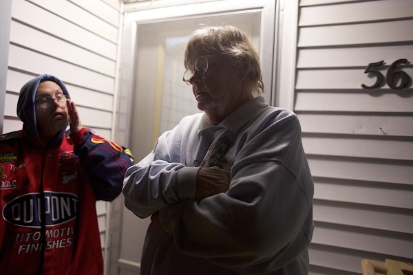 Neighbors, David, left, and his mother Sandra Smith believe a 2-year-old girl accidentally was shot in the throat next door to their home Wednesday evening. Police responded to the scene of a shooting at 54 Bald Mountain Drive Wednesday at 4:42 p.m. in Bangor. The Bangor Fire Department transported one victim to a local emergency room and their condition is unknown.