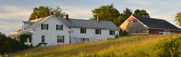The Annie Mills farm in Aurora recently was place on Maine Preservation's list of endangered historic Maine properties.