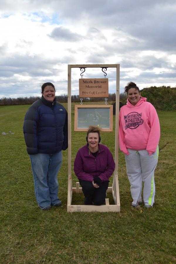 Attached image: L-R Cyndi Trapnell (MSSM), Jo Ellen Kelly (Healthy Aroostook), and Sara Shaw (Limestone Recreation Department).