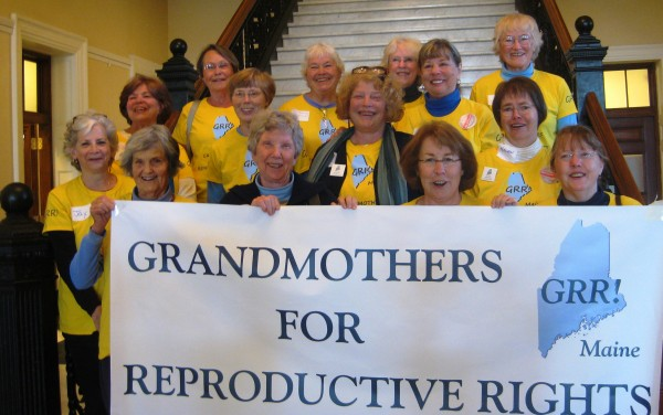 GRR members at State House in Augusta earlier this year