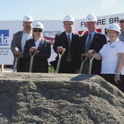 Credit union breaks ground for new Old Town branch