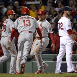 Cardinals beat Red Sox to even up World Series at 1-1; Game 3 Saturday night