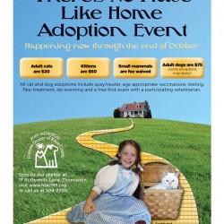 No Place Like Home Adoption Event