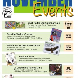 November Events at the PMHSKC