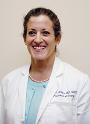 Dr. Julie White, chief of Surgery, Pen Bay Medical Center