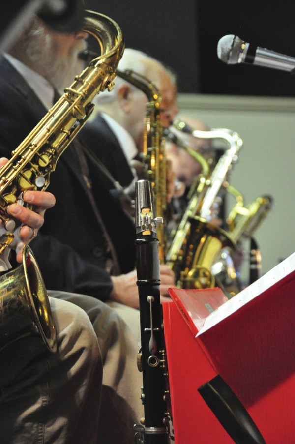 Sentimental Journey big band plays for a dance in the Bangor area.