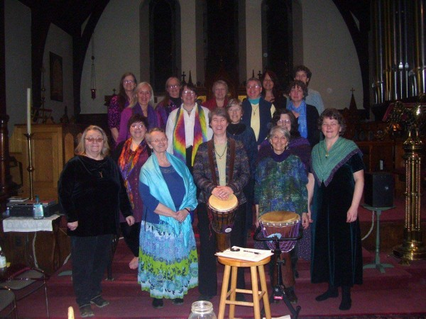 Singing circle Women With Wings celebrates their 20th anniversary this October.