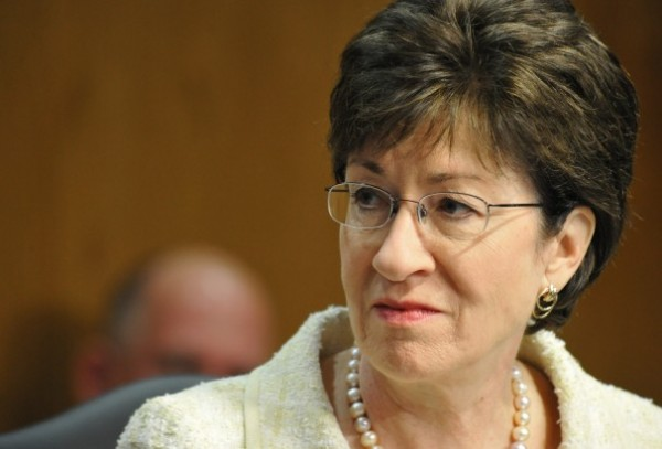 Sen. Susan Collins, R.-Maine, is working with Republicans and Democrats in the Senate to raise the debt ceiling and reopen government.