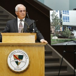 Husson University unveils The Edward O. and Mary Ellen Darling Learning Center