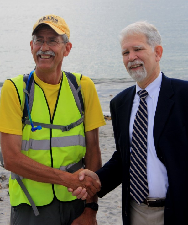 Phil and Larry Gross, Executive Director at SMAA