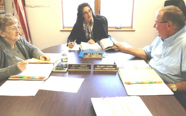 Waldo County Commissioners (left to right) Betty I. Johnson – District 1, Amy R. Fowler – District 3 and 
