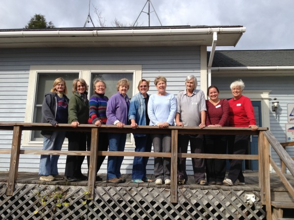 Congratulations to newly trained Master Gardener Volunteers!  (left to right):  Nancy Neu, Liz Pingree, Leonora Celosse, Joan Miller, Janine Blaine, Blanche Barnes, David Meaker, Jennifer Prout, and Lea Caron.