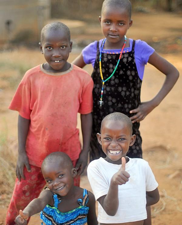 Children from Nyumbani Village in Kenya.