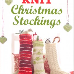 """Cover shot of """"Knit Christmas Stockings"""" by Gwen W. Steege"""