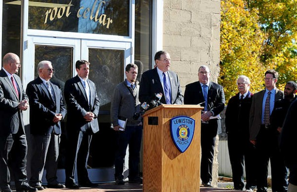 U.S Attorney Thomas Delahanty II announced Monday at Lewiston's Root Cellar that the Operation Hot Spot program has received a $149,863 grant from the U.S. Department of Justice and the Bureau of Justice Assistance, allowing the special patrols to continue and the program to expand in 2014.
