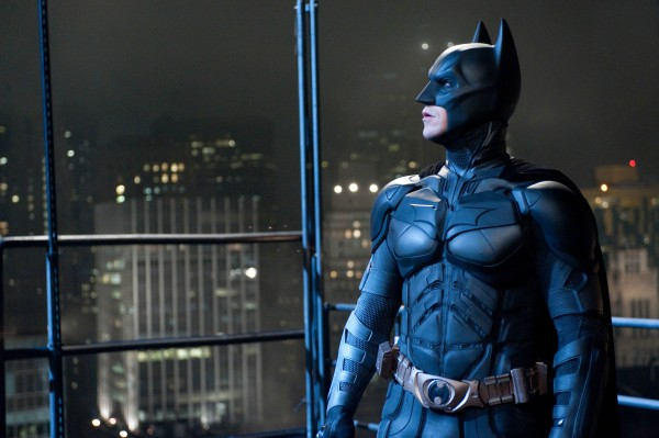 Christian Bale as Batman in Warner Bros. Pictures' and Legendary Pictures' action thriller, &quotThe Dark Knight Rises.&quot
