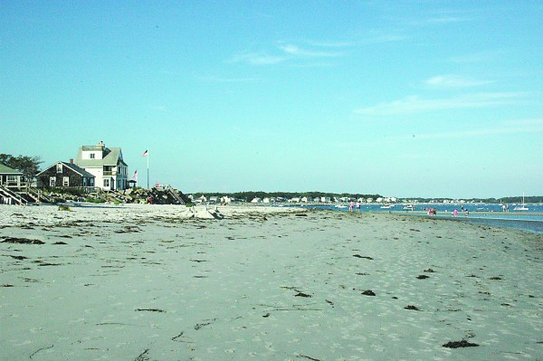 Goose Rocks Beach in Kennebunkport is seen in this file photo.