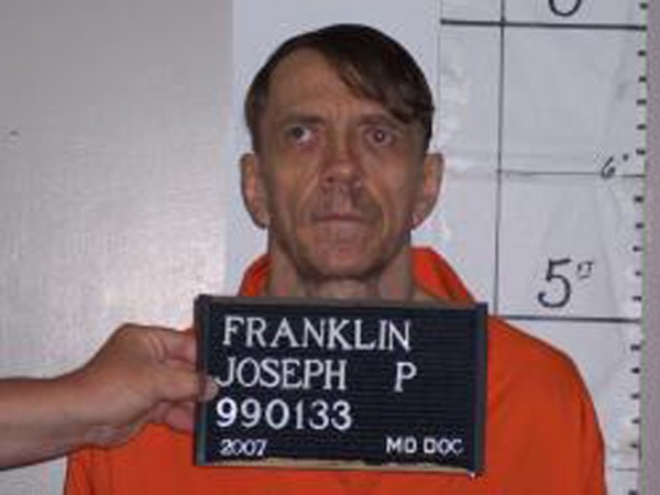 Joseph Paul Franklin is seen in a booking photo provided by the Missouri Department of Corrections taken April 27, 2007.
