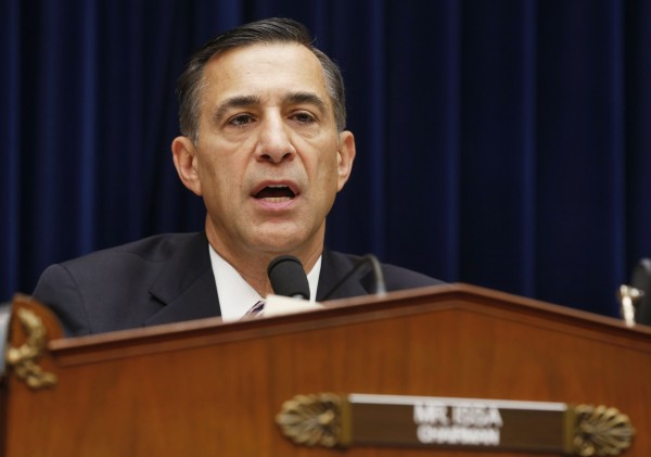 Chairman of the House Oversight and Government Reform Committee Rep. Darrell Issa