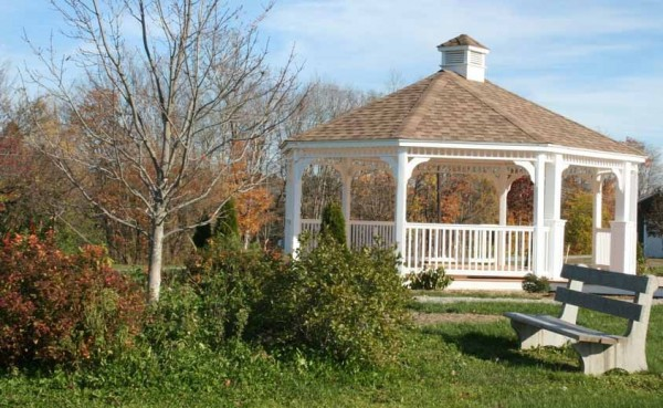 Located next to the Mars Hill Fire Station, the Mars Hill/Blaine Sargent & Tweedie Bandstand was built earlier this summer and will be the site of musical performances beginning next spring.