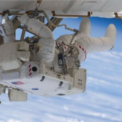 NASA spacewalk has Maine tethers