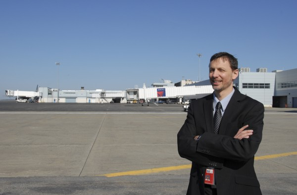 Bangor International Airport Director Tony Caruso