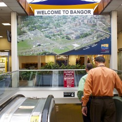 US sues to block American Airlines-US Airways merger that could reduce service at Bangor International Airport