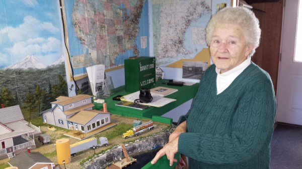 Helen Beal of Jonesport has continued to operate the Maine Central Model Railroad since the death of her husband, &quotBuz,&quot nearly two years ago.