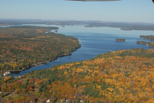 The Downeast Lakes Land Trust hopes to buy a large swath of land east of West Grand Lake and northwest of Big Lake.