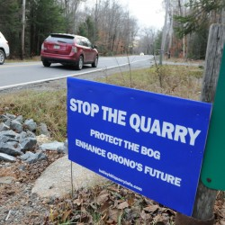 Orono planning board votes to continue application for quarry near bog boardwalk