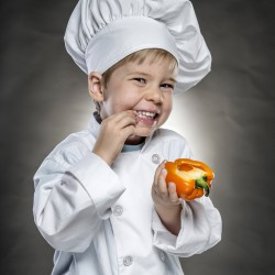 Teach kitchen safety to kids by teaching cooking skills