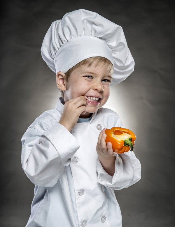 The writer's 3-year-old son, Ben, likes to get involved in the kitchen by helping to mix and measure. One of his favorite kitchen tools is a small whisk that is the perfect size for his hands.