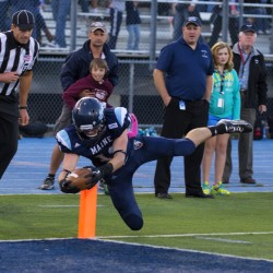 UMaine football team, no underdog, knocks off Massachusetts