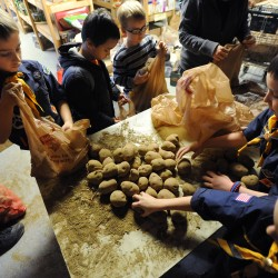 Food-raising Turkey Toss sets collection record
