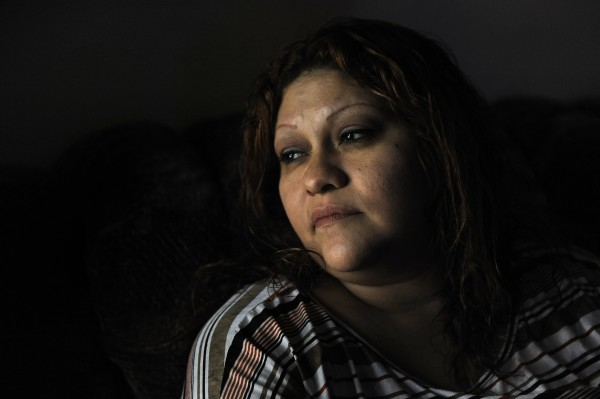 Blanca Salas of McAllen, Texas, seen Nov. 5, 2013, is fighting diabetes as she tries to feed her family on $430 in monthly benefits through the Supplemental Nutrition Assistance Program, formerly known as food stamps.