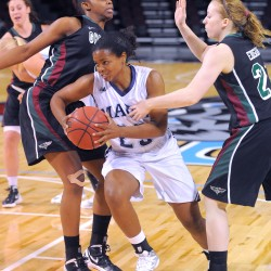 UMaine women's basketball pulls away from Maine Maritime