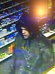 The Milbridge Police Department has released this video surveillance image showing the suspect in a strong-arm robbery attempt late Thursday afternoon at Milbridge Pharmacy.