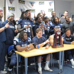 Senior-led UMaine football team looks to clinch CAA championship on Saturday