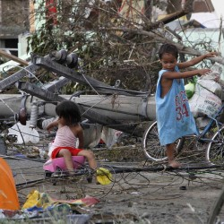 Super Typhoon Haiyan slams Philippines, at least 3 dead