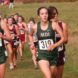 Teamwork leads to MDI girls' cross country championship