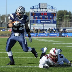 UNH outrushes UMass for win in final Colonial Clash
